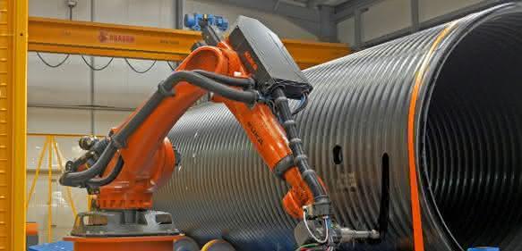 Roboter: Kuka in der Kunstoffindustrie