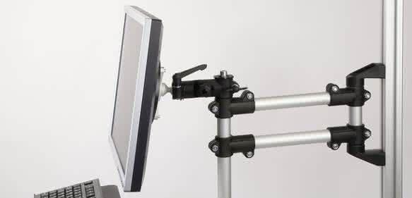 Monitorhalterung: Langer Arm für Monitore