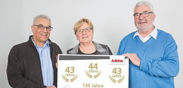 Hans-Peter Flach, Christiane Enders, Hans Faißt (v.l.)