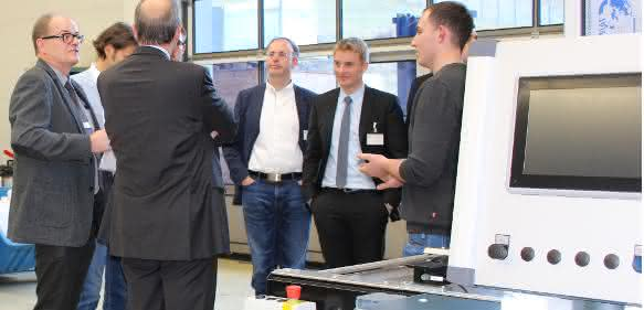 Fachaustausch Projekt ETA-Fabrik bei Mafac