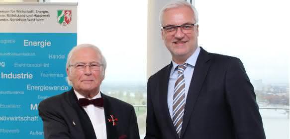 Oni-Chef Wolfgang Oehm erhält das Bundesverdienstkreuz