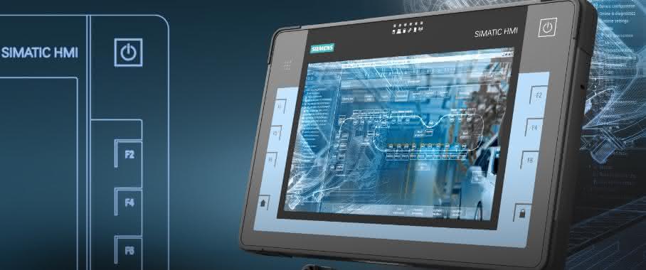 Industrial-Tablet-PC Simatic ITP1000 von Siemens