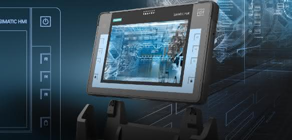 Industrial-Tablet-PC Simatic ITP1000 von Siemens