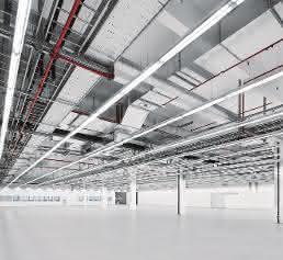 Produktionshalle Technologiefabrik Festo
