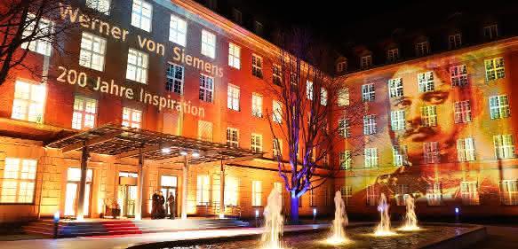 Festakt Werner von Siemens