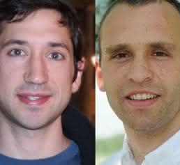 Dr. Justin Feigelman und Dr. Carsten Marr