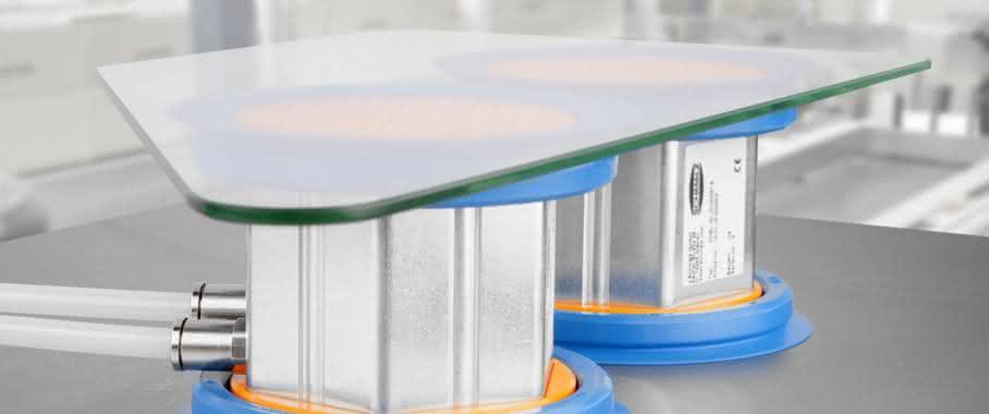 Schmalz Vakuum-Sauger Glasbearbeitung