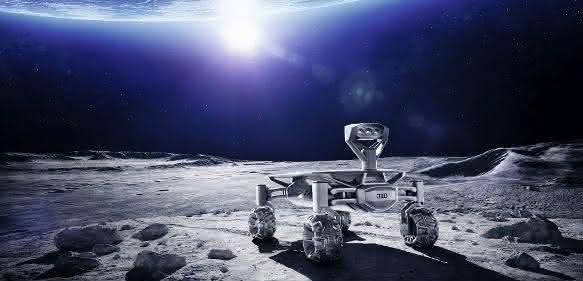Audi beim Google Lunar XPRIZE: 3D-Druck to the Moon