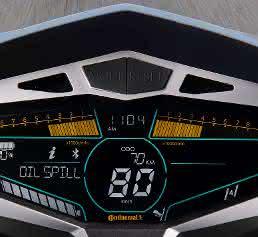 Motorrad-Display