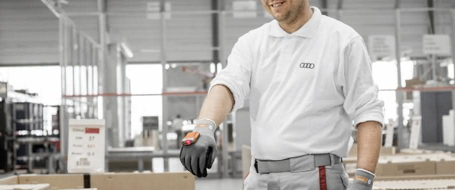Wearables: ProGlove scannt jetzt bei Audi