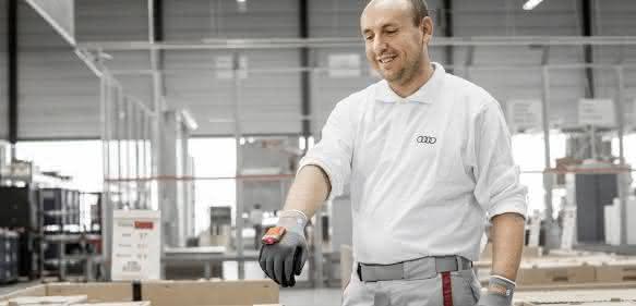 ProGlove Handschuh bei Audi