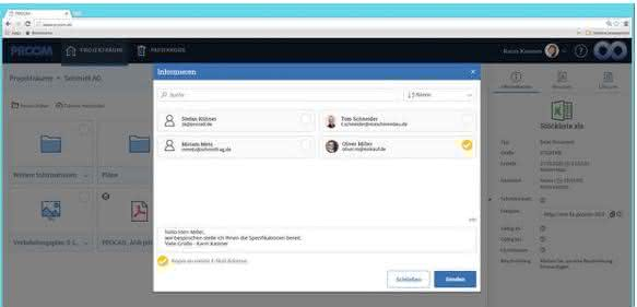 Dokumentenaustausch-Plattform