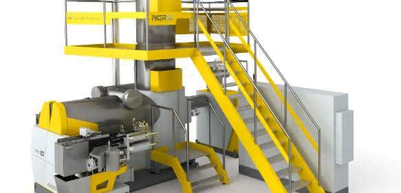Speziell zur dokumentierten Produktion von rPET für den Lebensmittelbereich soll diese Anlage dienen. (Bild: NGR)