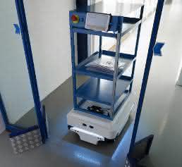 Roboter MiR100 bei Elos Medtech