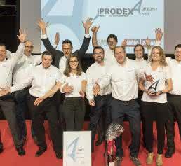 Verleihung des Prodex-Awards 2016 in Basel