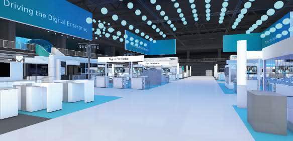 Siemens auf der SPS IPC Drives