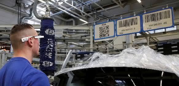 Datenbrille im Serieneinsatz bei Volkswagen