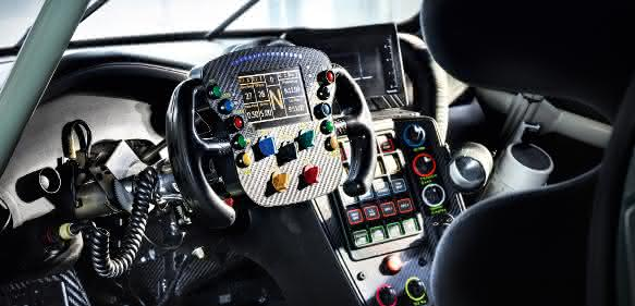 Cockpit Porsche 911 RSR