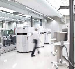 Anlage für den 3D-Druck