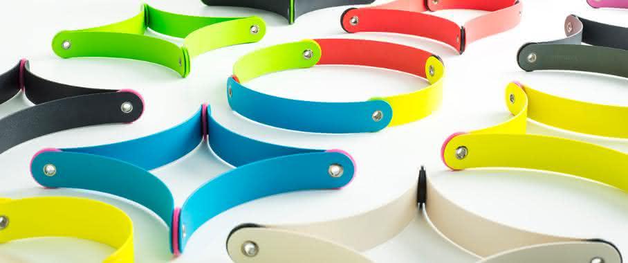Kunststoff mit Pfiff – aus einfachen Bauteilen entsteht ein variabel nutzbares Designobjekt. (Bild: Oha-Design)