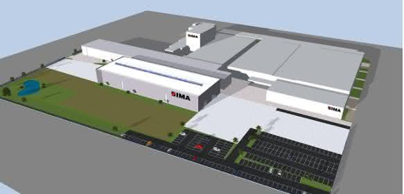 IMA Produktionshalle