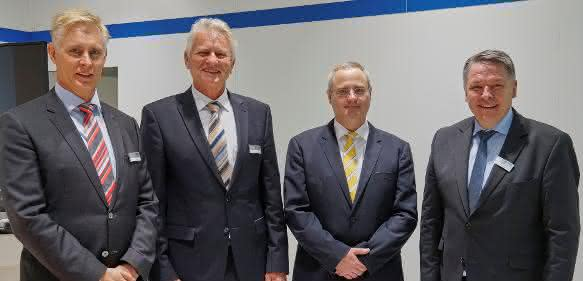 Gerald Mies, Carl-Eberhard Cloos, Andreas Baumüller, Sieghard Thomas