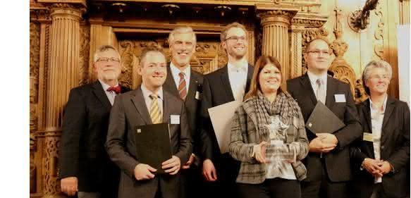 VDI verleiht International Bionic Award 2016 der Schauenburg-Stiftung. (Bild: Labisch/BIC Bremen)