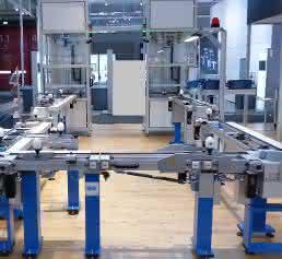 Werkstückträger-System Stein-Automation Motek