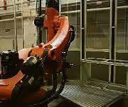 Roboterfräsen an der Uni Stuttgart