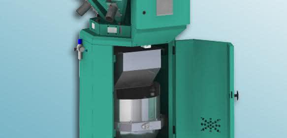 Das gravimetrische Chargendosiergerät Batchmix XL ist für maximal sechs Komponenten und Durchsätze bis 1 920 kg/h ausgelegt. (Bilder: Protec)