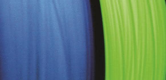 Auch nachleuchtende Filamente bieten interessante Einsatzmöglichkeiten. (Bild: Herz)