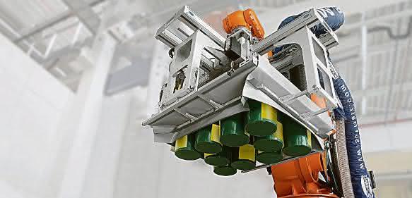 Hochleistungs-Palletizer SPZ-M-C von Schmalz