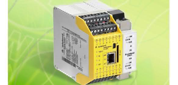 Wieland Electric auf der Motek: Sicherheitssteuerung mit dem gewissen Etwas