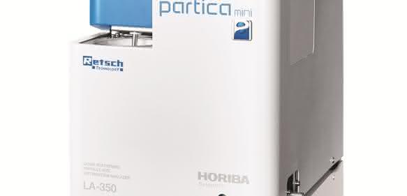 Laser-Streulichtspektrometer HORIBA LA-350 von Retsch Technology (Bild: Retsch Technology GmbH)