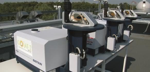 FT-IR Fernerkundungssystem: EM27/SUN. (Foto: Bruker Optik GmbH)