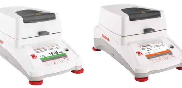OHAUS stellt die neuen Feuchtebestimmer MB120 und MB90 vor (Foto: OHAUS)