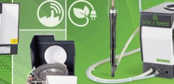 Zugänglich für Netzwerkprotokolle: Vibrationswendelförderer Eacyfeed von Deprag. (Foto: Deprag)