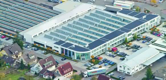 Hänel-Werk und Democenter in Bad Friedrichshall.