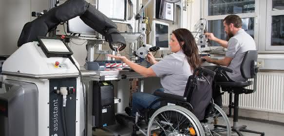 Bosch Apas mit Behinderten