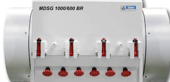 Einstufige Brockenschneidmühle für Durchsätze zwischen 800 und 3 000 Kilogramm pro Stunde. (Bild: Hellweg)