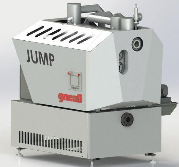 Über Einstellungen der Prozessparameter am Reaktor Jump lässt sich der IV-Wert der PET-Schmelze in einem weiten Bereich gezielt beeinflussen. (Bild: Gneuß)