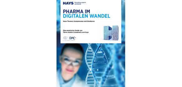 Studie von Hays und PAC zum digitalen Wandel in der Pharmabranche (Bild: Hays AG)