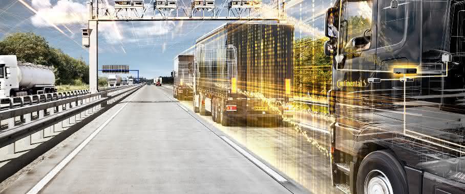 Continental entwickelt Lösungen für automatisierte Lkw