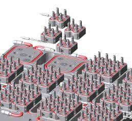 Anordnung der Mikro-Verteiler