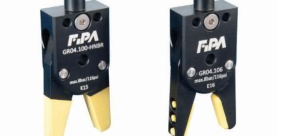 FIPA Greifzangen mit HNBR-Elastomeren