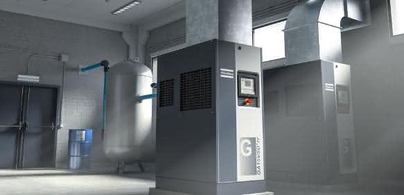 Atlas Copco GA Kompressoren mit Drehzahlregelung