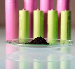 Wertvolle Batteriematerialien sollen durch ein neues Verfahren zurückgewonnen werden. © K. Selsam-Geißler, Fraunhofer ISC