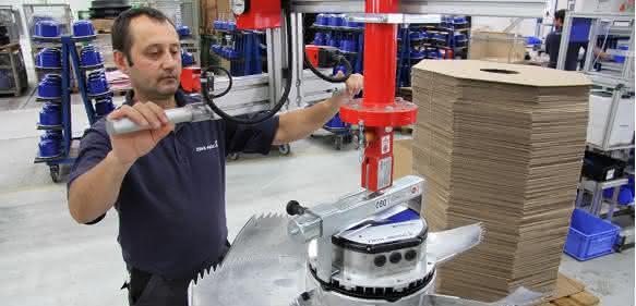 Produktion bei Ziehl-Abegg EC-Ventilator