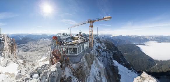 Kone Aufzug Zugspitze