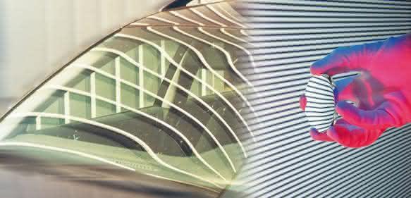 inline Messung Autoglas mit Isra Vision
